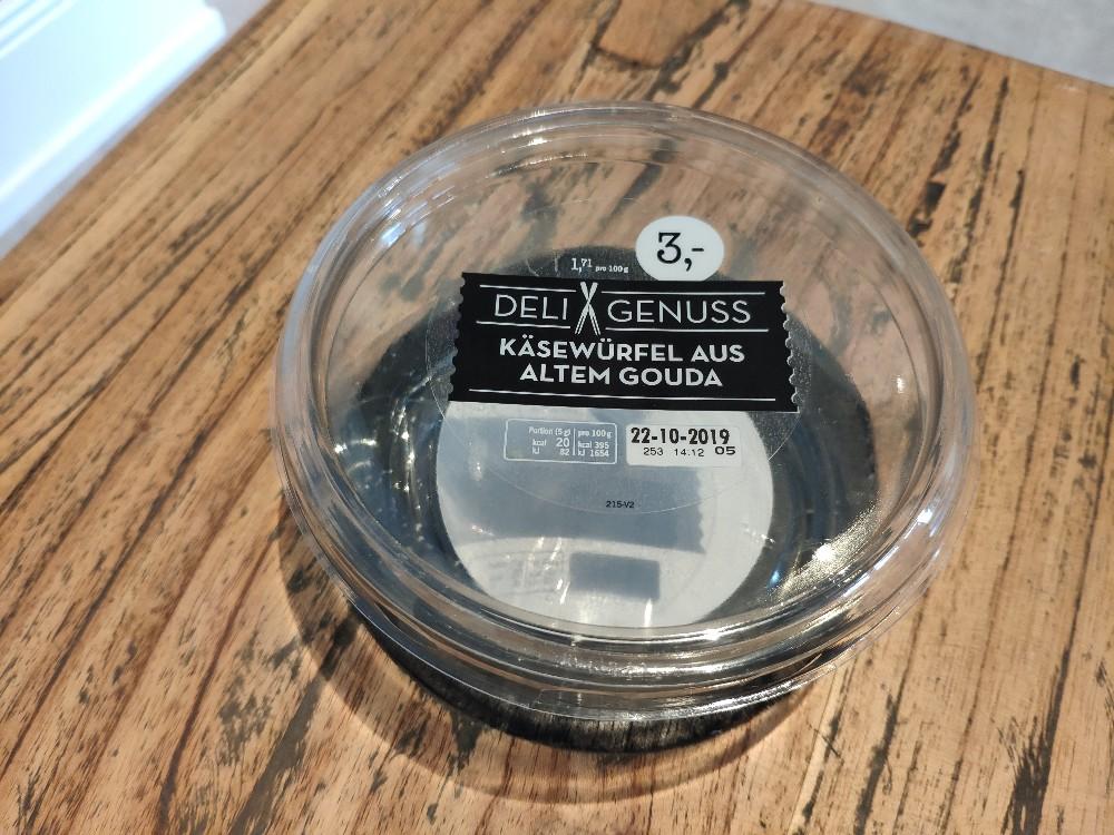 Käsewürfel aus altem Gouda, 48 % von daniel.mau | Hochgeladen von: daniel.mau
