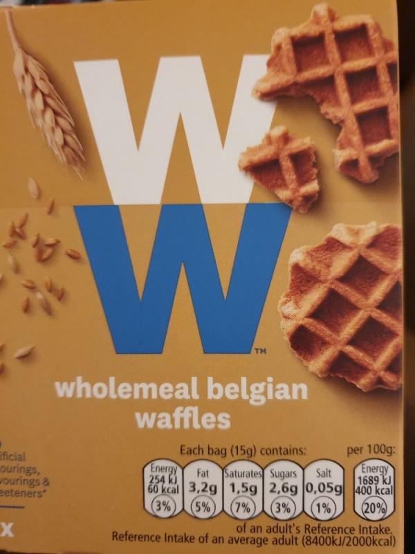 Weight Watchers Wholemeal Belgian Waffles von Jeckaline   Hochgeladen von: Jeckaline