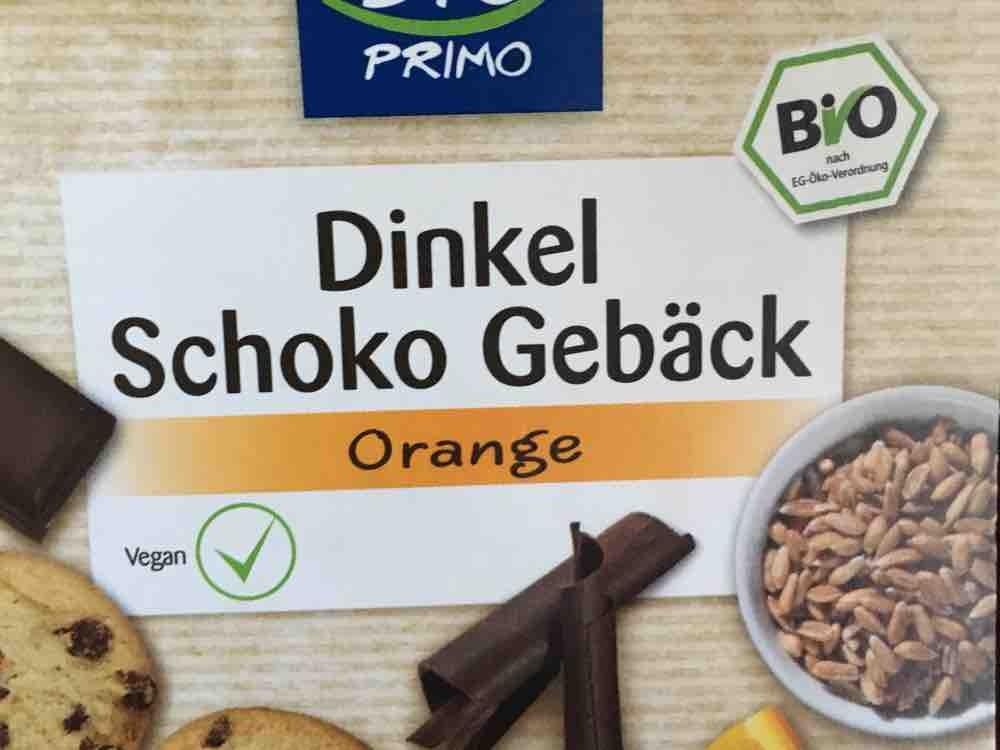 Bio Dinkelgebäck mit Schokolade und Orangenöl von elfriedegeiger7745 | Hochgeladen von: elfriedegeiger7745