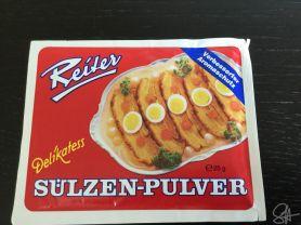 Sülzen Pulver   Hochgeladen von: contessa68