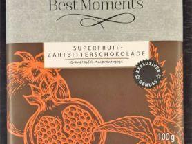 Superfruit-Zartbitterschokolade, Granatapfel-Amaranthpops | Hochgeladen von: wertzui