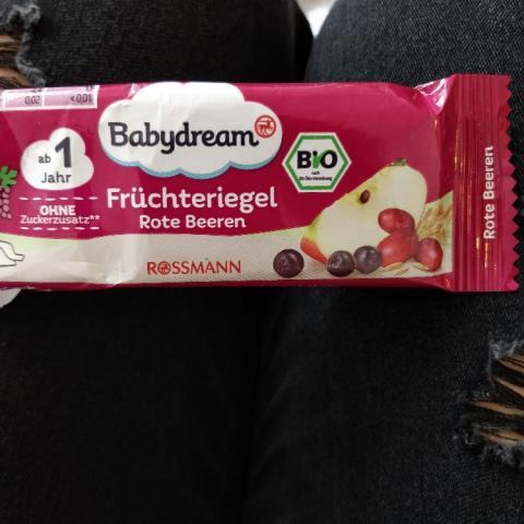 Babydream Früchteriegel, Rote Beeren von ponybaer | Hochgeladen von: ponybaer