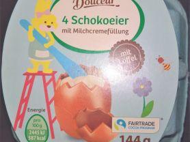 Schokoeier, mit Milch-Cremefüllung | Hochgeladen von: wertzui