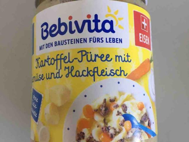 Babybrei bebivita, Kartoffelpüree mit Gemüse und Hackfleisch  von H2flO | Hochgeladen von: H2flO