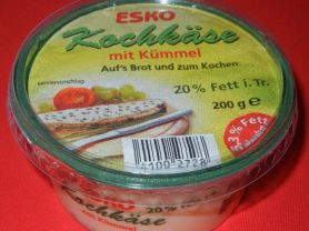 esko Kochkäse mit Kümmel, Kochkäse | Hochgeladen von: Kissichan