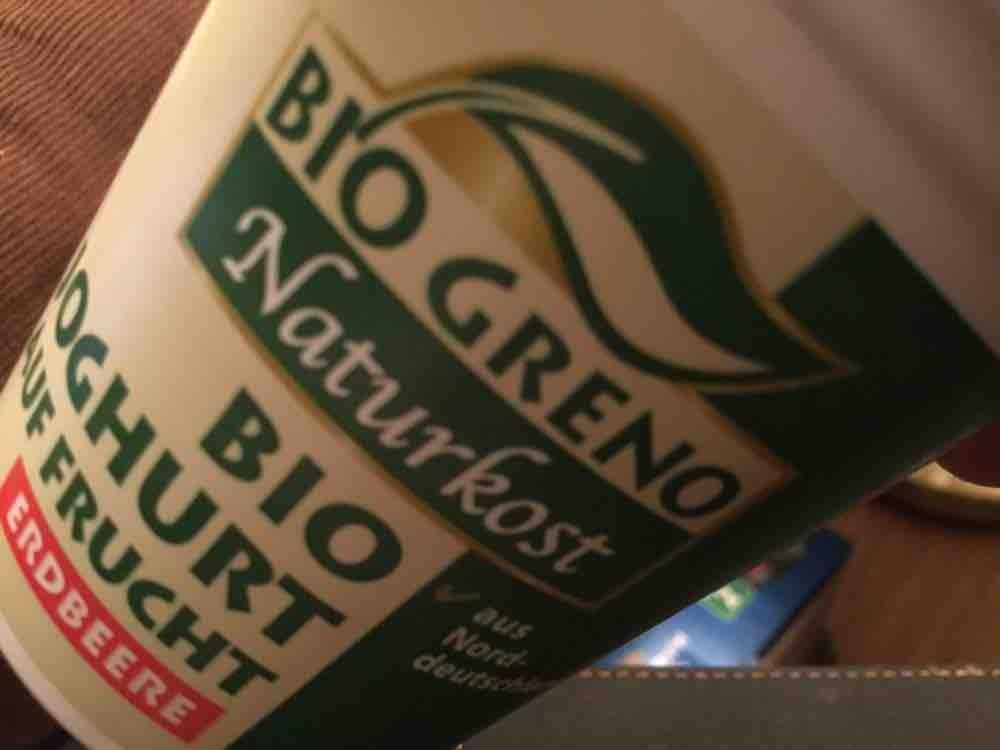Bio Greno Joghurt auf Frucht, Erdbeere von gabcar | Hochgeladen von: gabcar