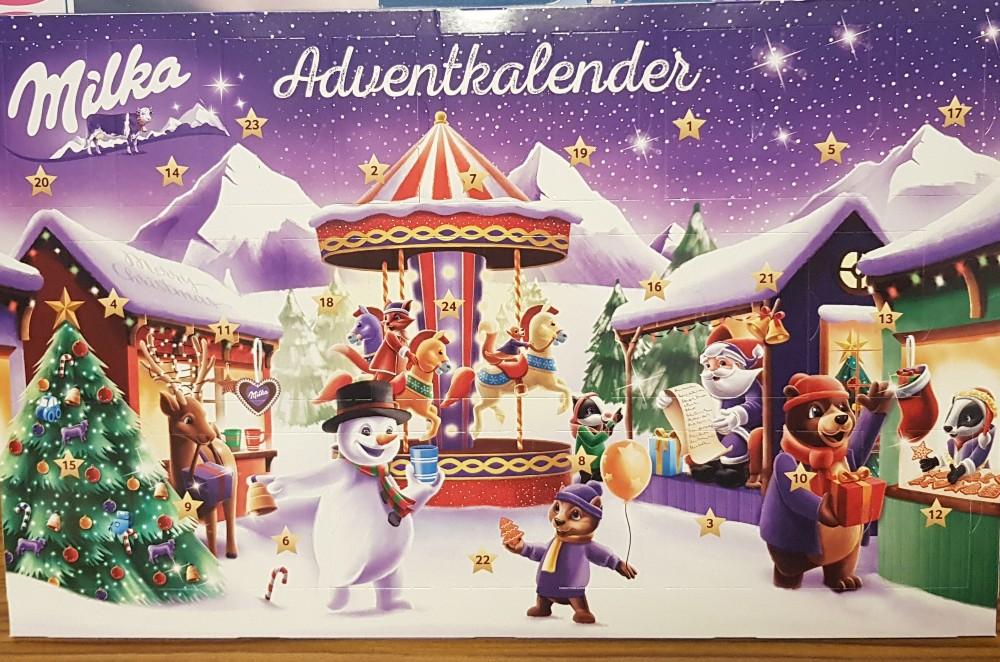 Milka Adventskalender, Alpenmilch Schokolade von NicoleSrmb | Hochgeladen von: NicoleSrmb