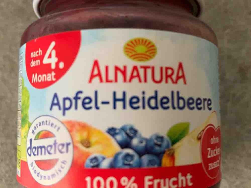Babynahrung, Apfel-Heidelbeere von Jelly95 | Hochgeladen von: Jelly95