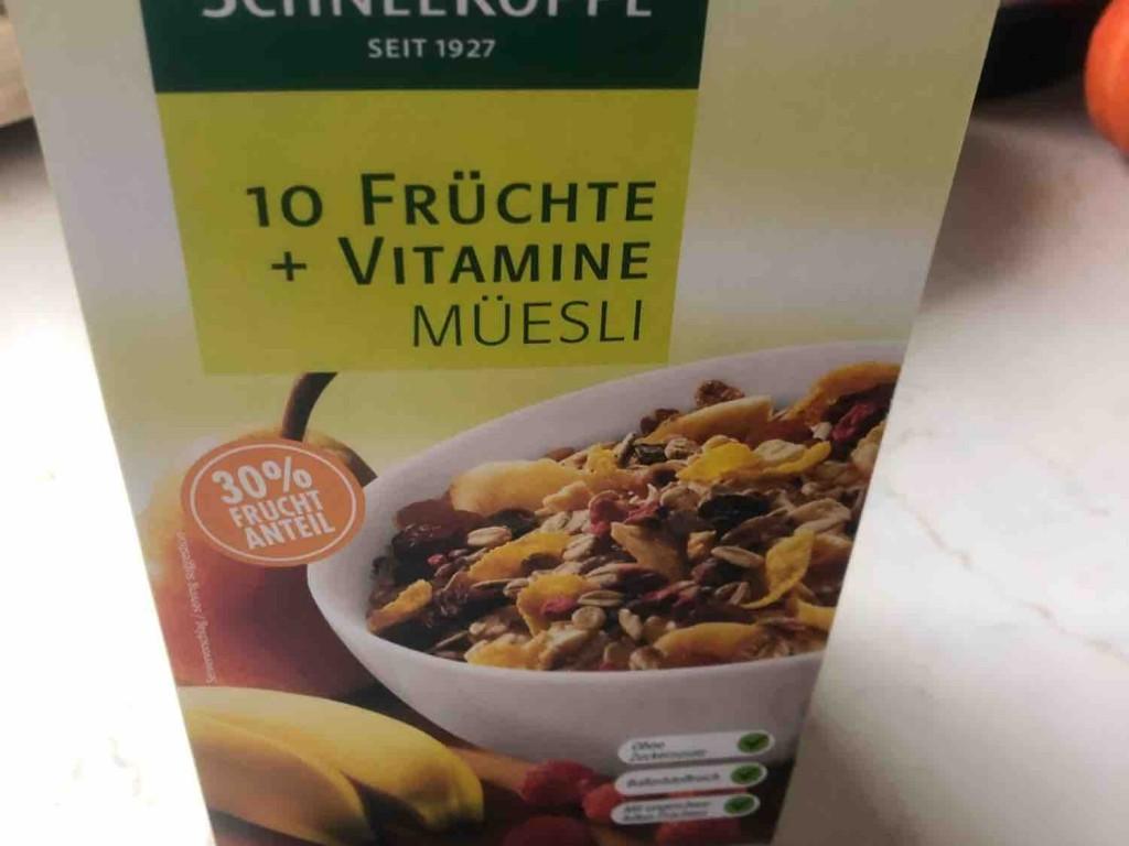 10 Früchte + Vitamine Müsli von mooonchichi | Hochgeladen von: mooonchichi
