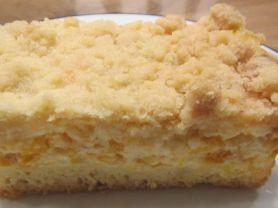 Streuselkuchen mit Mandarinen und Schmand, Fruchtig nach Man   Hochgeladen von: Postfee