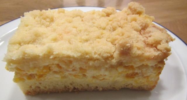 Fotos Und Bilder Von Kuchen Torten Streuselkuchen Mit Mandarinen