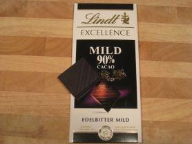 Lindt Excellence Mild 90% Cacao, Edelbitter | Hochgeladen von: mr1569
