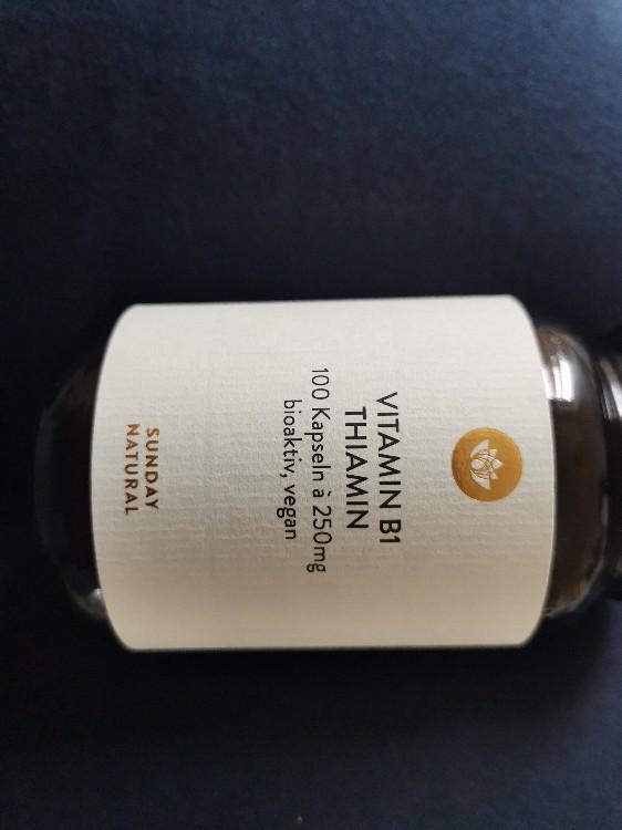 Vitamin B1 (250mg) von Joisi   Hochgeladen von: Joisi