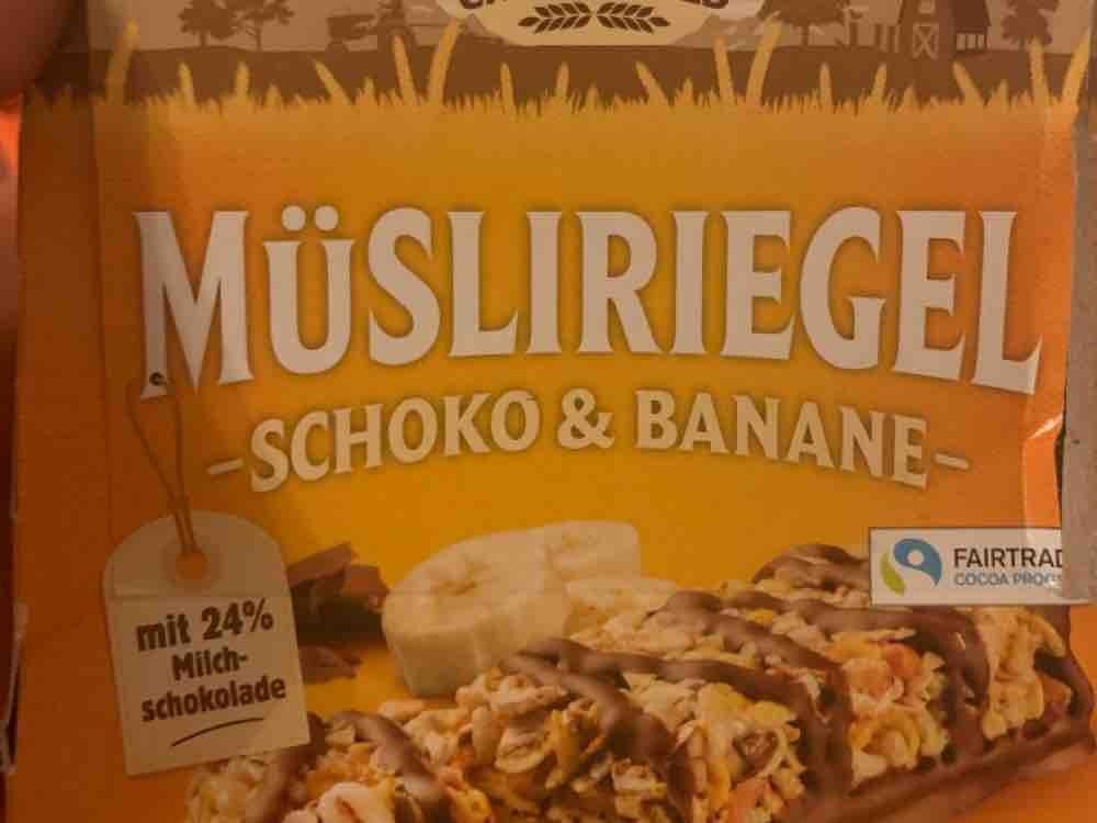 Müsliriegel, Schoko + Banane von fam8867855 | Hochgeladen von: fam8867855
