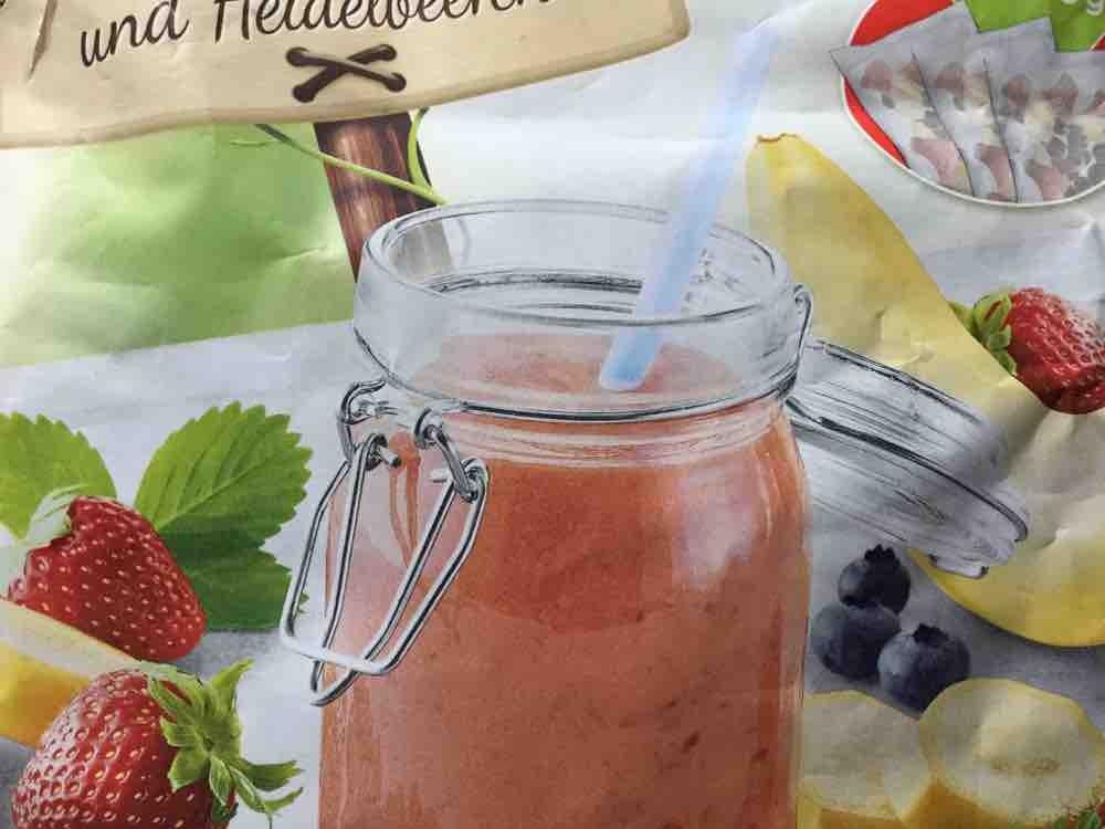 Fruchtmischung für Smoothies, Erdbeeren, Bananen und Heidelbeeren von frauke2014   Hochgeladen von: frauke2014