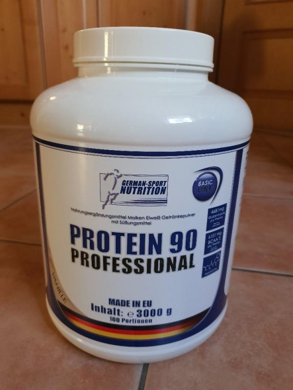 Protein 90 Professional, Geschmack Vanille von frankkw145   Hochgeladen von: frankkw145