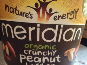 Meridian Organic Crunchy Peanut Butter, Bio Erdnuss Butter | Hochgeladen von: Alice.