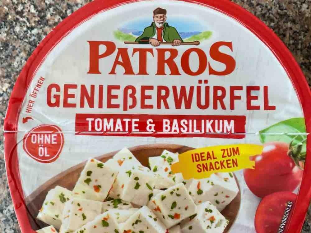 Genießerwürfel, Tomate & Basilikum von Sprudelwasser | Hochgeladen von: Sprudelwasser