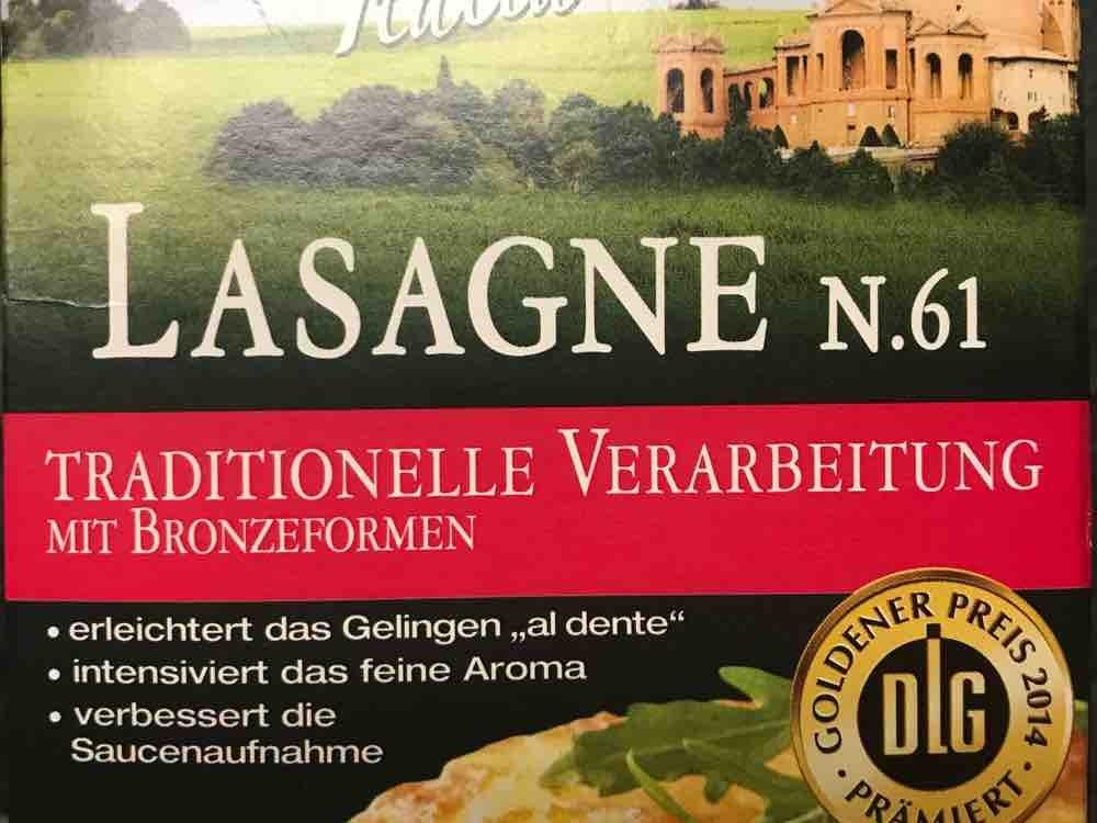 Lasagne Italienische Hartweizengrieß-Nudelplatten ohne Füllung von infoweb161 | Hochgeladen von: infoweb161