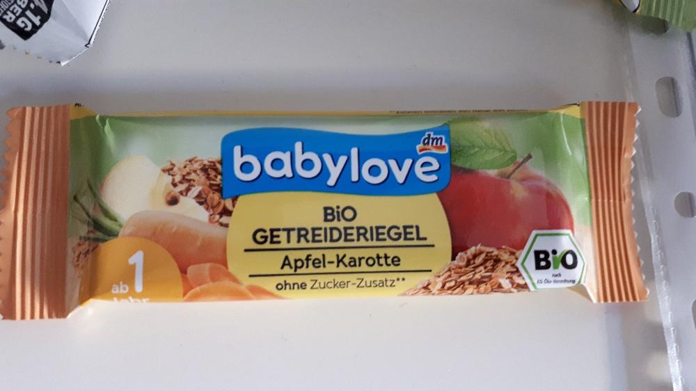 bio getreideriegel, Apfel-karotte von ViviBe   Hochgeladen von: ViviBe