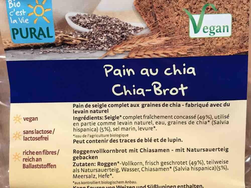 Chia-Brot / Pain au chia von sbrungs567   Hochgeladen von: sbrungs567