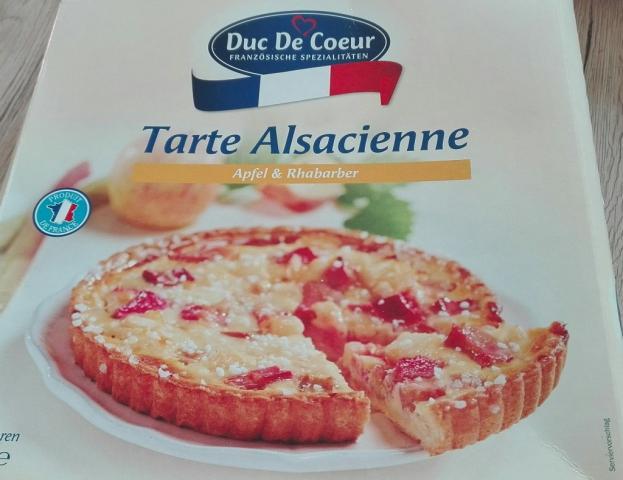 Tarte Alsacienne, Apfel Rhabarber | Hochgeladen von: bodensee