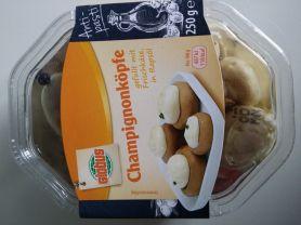 Champignonköpfe gefüllt mit Frischkäse | Hochgeladen von: aschwa