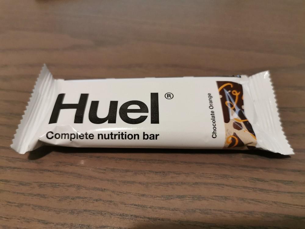 Huel Riegel 3.1 complete nutrition bar, chocolate orange / Schokolade-Orange von krapfen   Hochgeladen von: krapfen