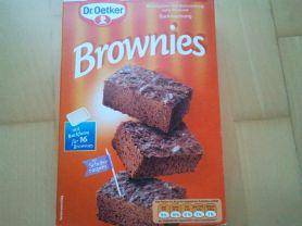 Brownies Dr. Oetker Backmischung, Schokolade | Hochgeladen von: huhn2