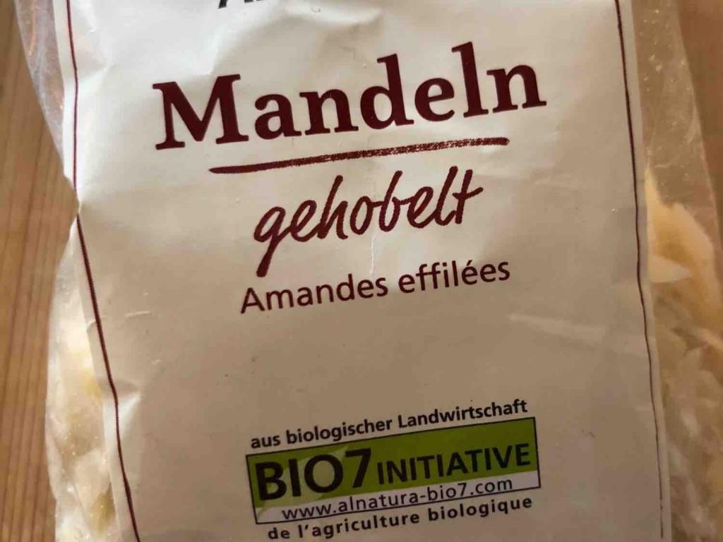 Mandeln gehobelt von Suusiie | Hochgeladen von: Suusiie