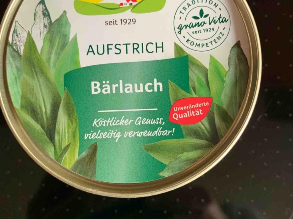 Veganer Brotaufstrich, Bärlauch von TorstenTT   Hochgeladen von: TorstenTT