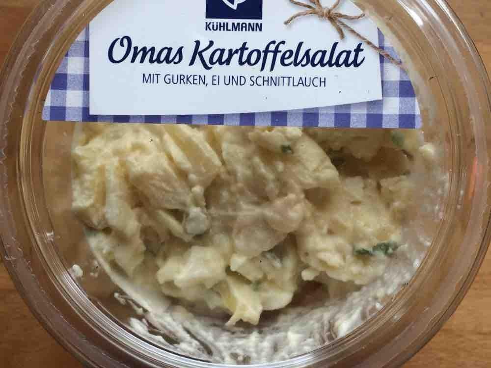 Omas Kartoffelsalat, mit Ei und Gurke von 11ter   Hochgeladen von: 11ter
