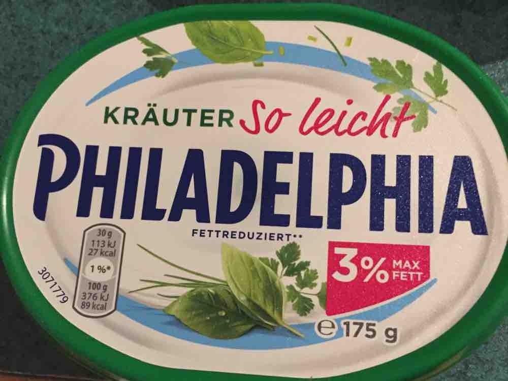 Philadelphia so leicht, Kräuter 5% Fett von Schroeder | Hochgeladen von: Schroeder