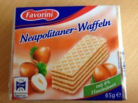 Favorini Neapolitaner-Waffeln, mit 8% Haselnüssen | Hochgeladen von: cavemaennchen