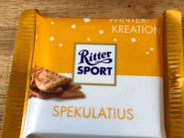 Ritter Sport Spekulatius Winterkrration von Ossiate   Hochgeladen von: Ossiate