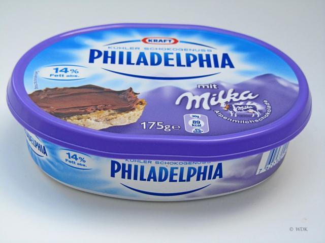 Philadelphia Schokogenuss, mit Milka   Hochgeladen von: WDK