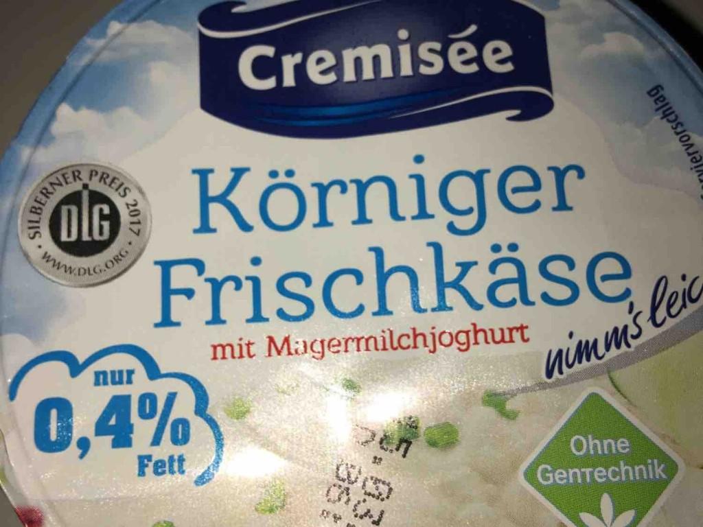K?rniger Frischk?se, mit Magermilchjoghurt 0,4% Fett von mcbru | Hochgeladen von: mcbru