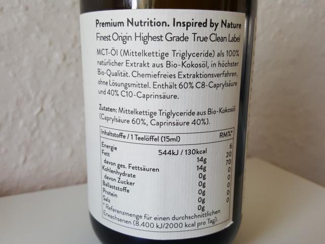 Bio MCT Öl, Kokos  | Hochgeladen von: LeeviHilija