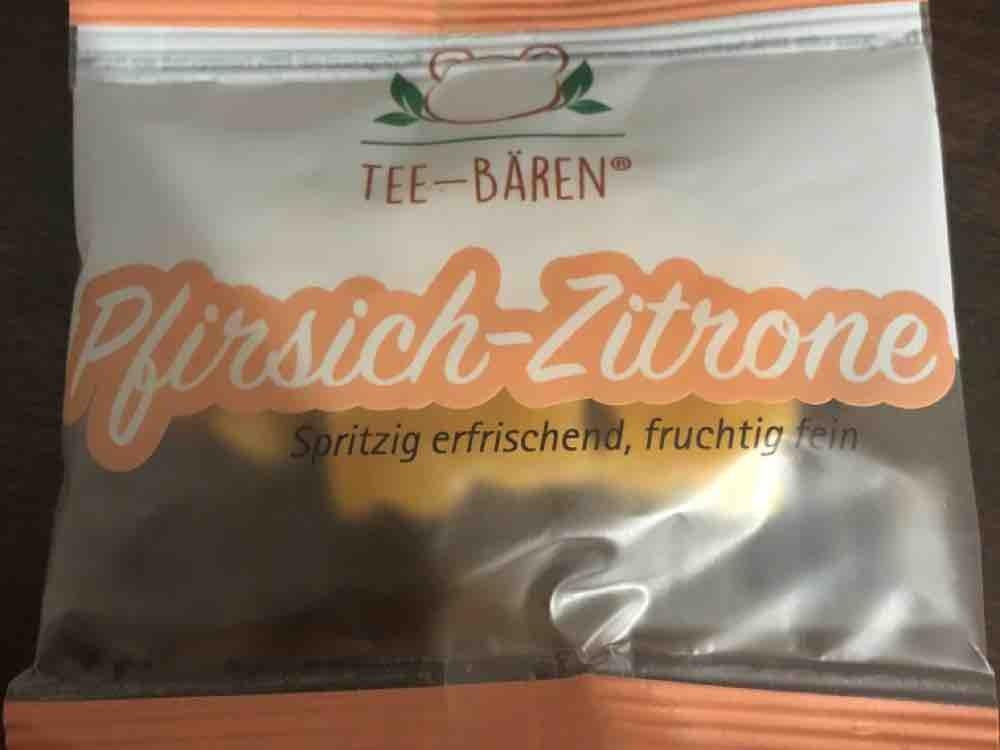 Tee-Bären Pfirsich - Zitrone von CathrinL   Hochgeladen von: CathrinL