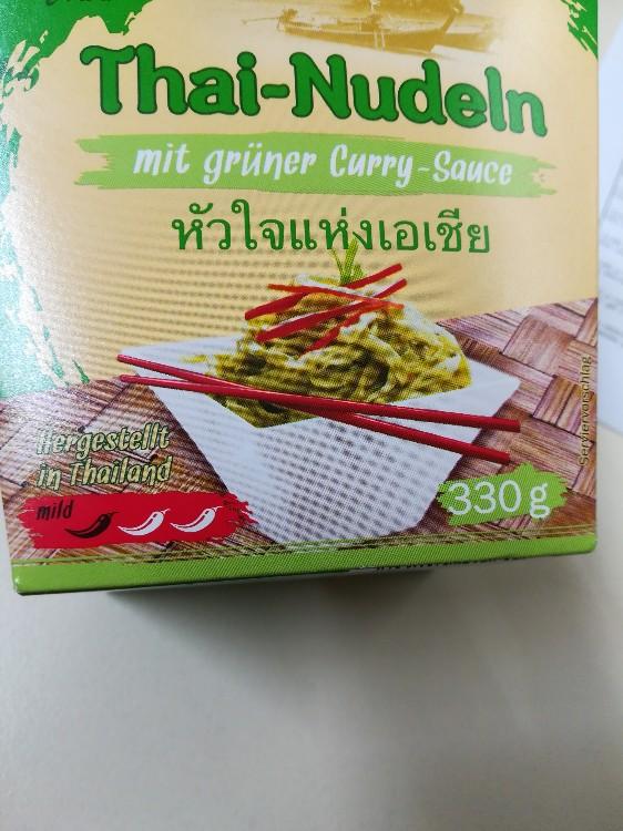 Thai-Nudeln mit grüner Curry-Sauce  von aliaspatricia | Hochgeladen von: aliaspatricia
