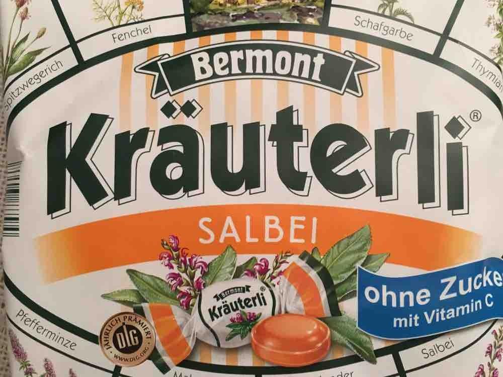 Kräuterli Bonbons, Salbei zuckerfrei von medienszenen384 | Hochgeladen von: medienszenen384