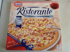 Dr Oetker Ristorante Pizza Carbonara Kalorien Pizza Fddb