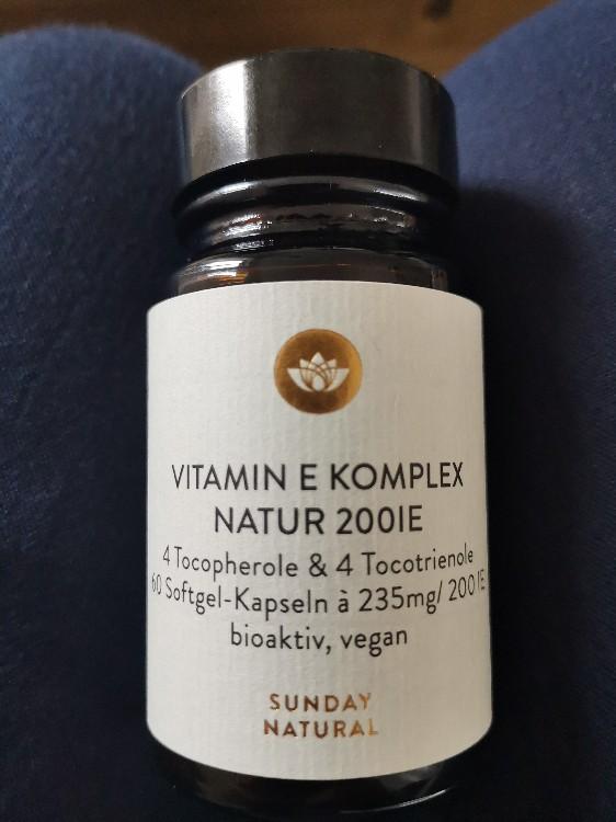 Vitamin E Komplex Natur 200IE von Joisi   Hochgeladen von: Joisi