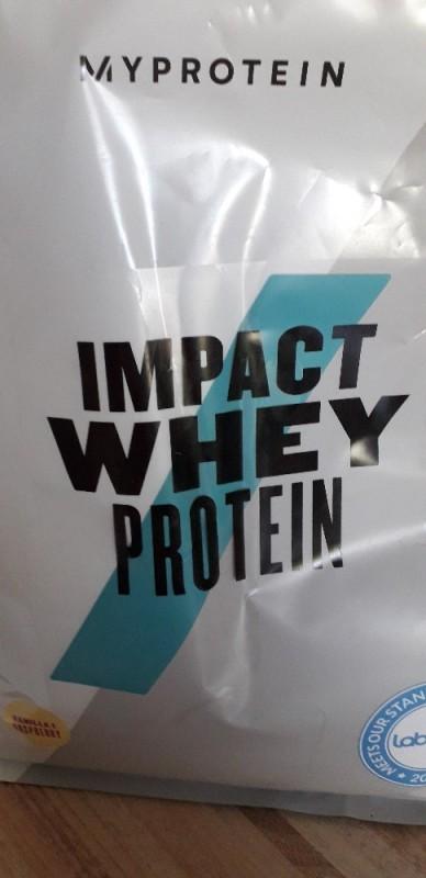 Impact Whey Protein, Vanilla Raspberry Flavour von Nette85   Hochgeladen von: Nette85
