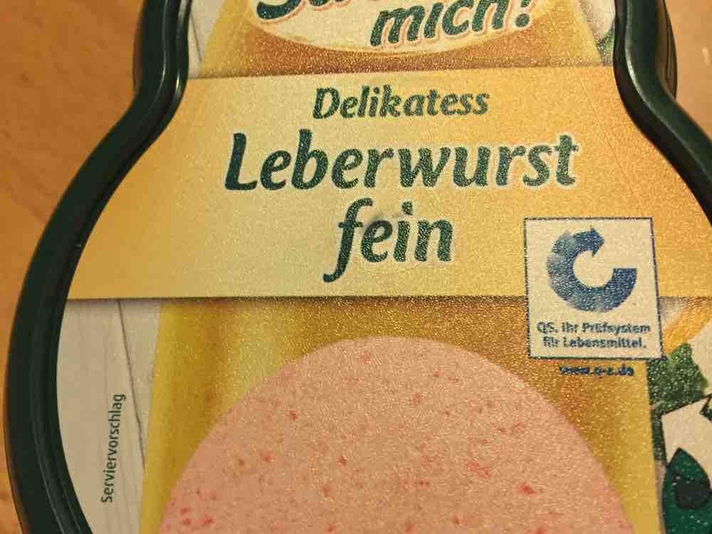 Delikatess Leberwurst fein von angiedrozd106   Hochgeladen von: angiedrozd106