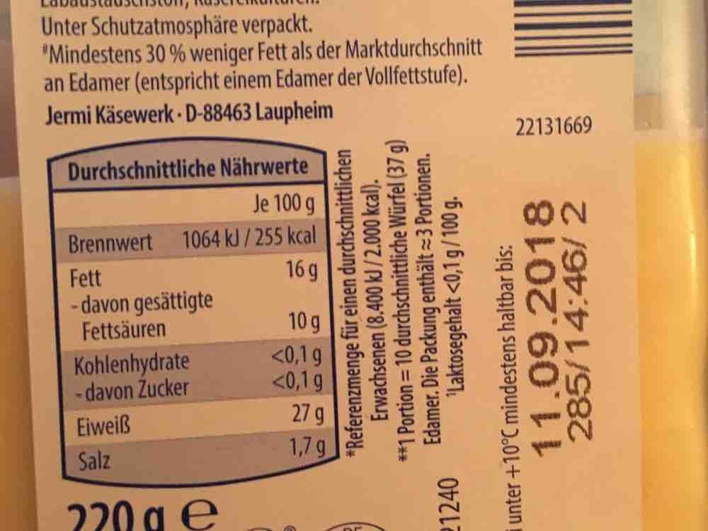 Käse Snack Würfel Light, Leicht Gouda/ Edamer von modape625 | Hochgeladen von: modape625