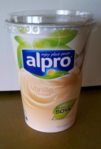 Alpro Soya Joghurt, Vanille | Hochgeladen von: Demonic96