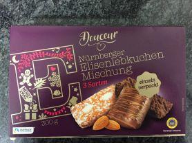 Douceur Nürnberger Elisenlebkuchen Mischung, 3 Sorten  | Hochgeladen von: rks