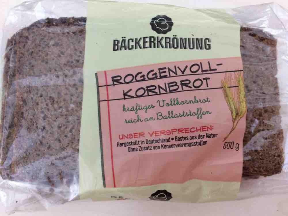 Bäckerkrönung, Roggenvollkornbrot von Fupsie   Hochgeladen von: Fupsie