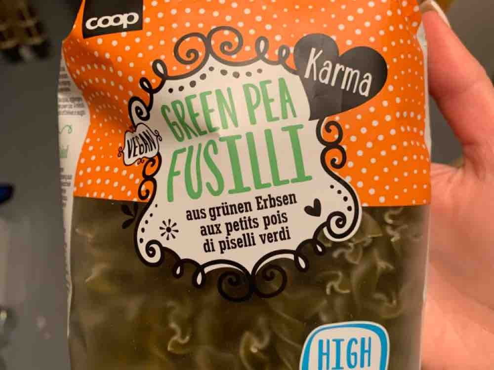 Karma Green Pea Fusilli von LarajoyPacifici | Hochgeladen von: LarajoyPacifici